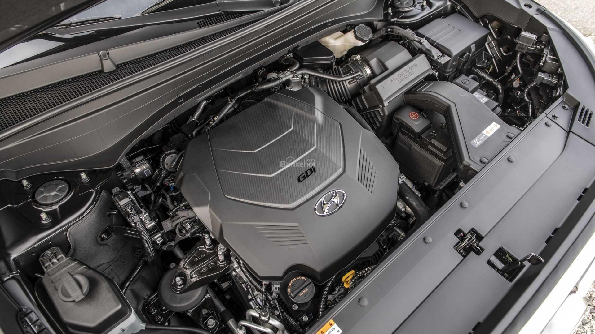 Đánh giá xe Hyundai Palisade 2020 về động cơ.