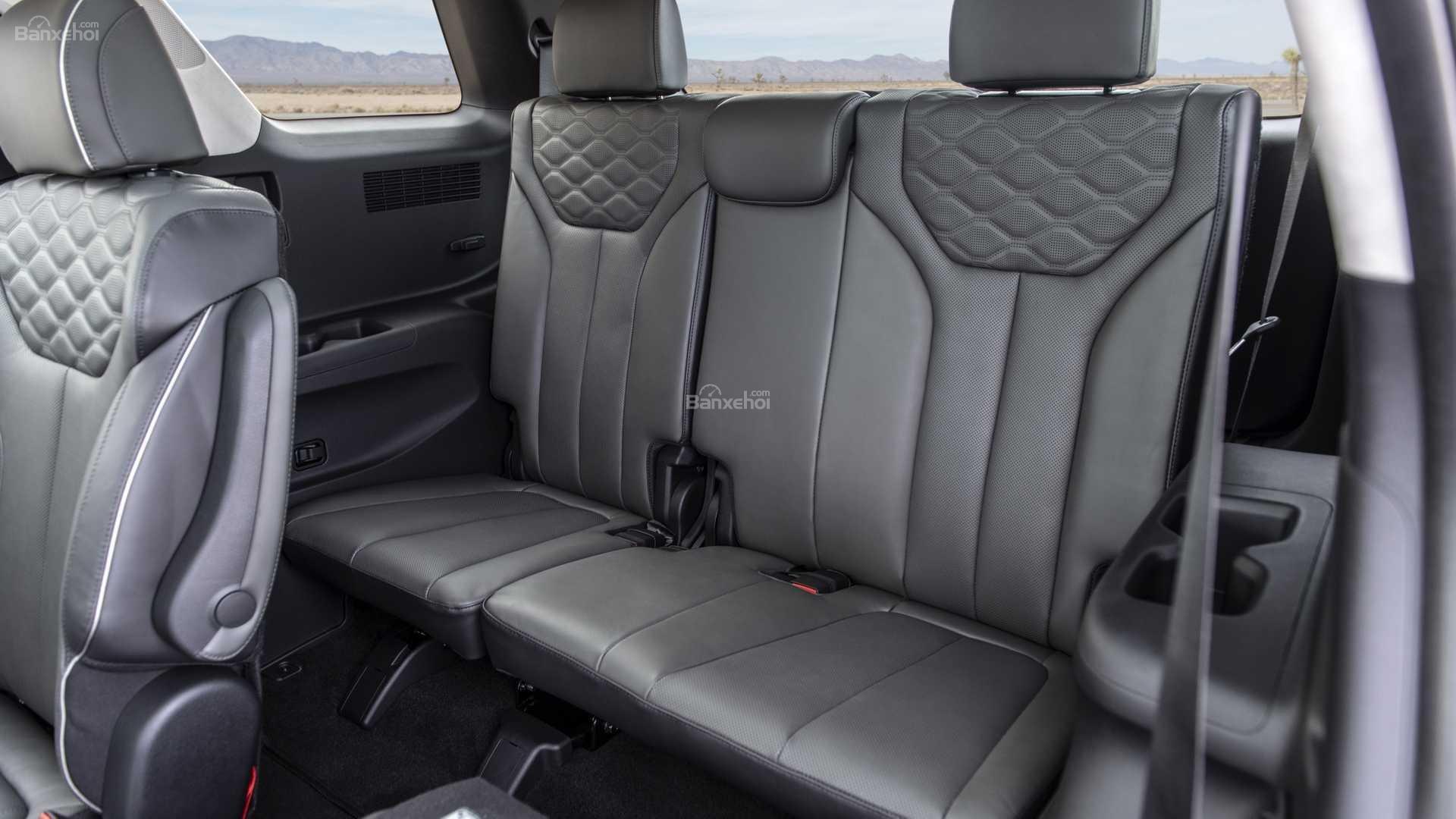 Đánh giá xe Hyundai Palisade 2020 về hệ thống ghế ngồi.