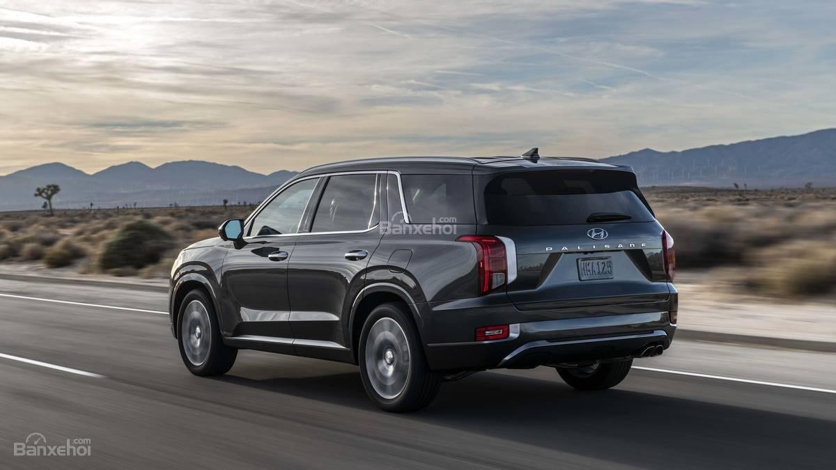 Đánh giá xe Hyundai Palisade 2020.