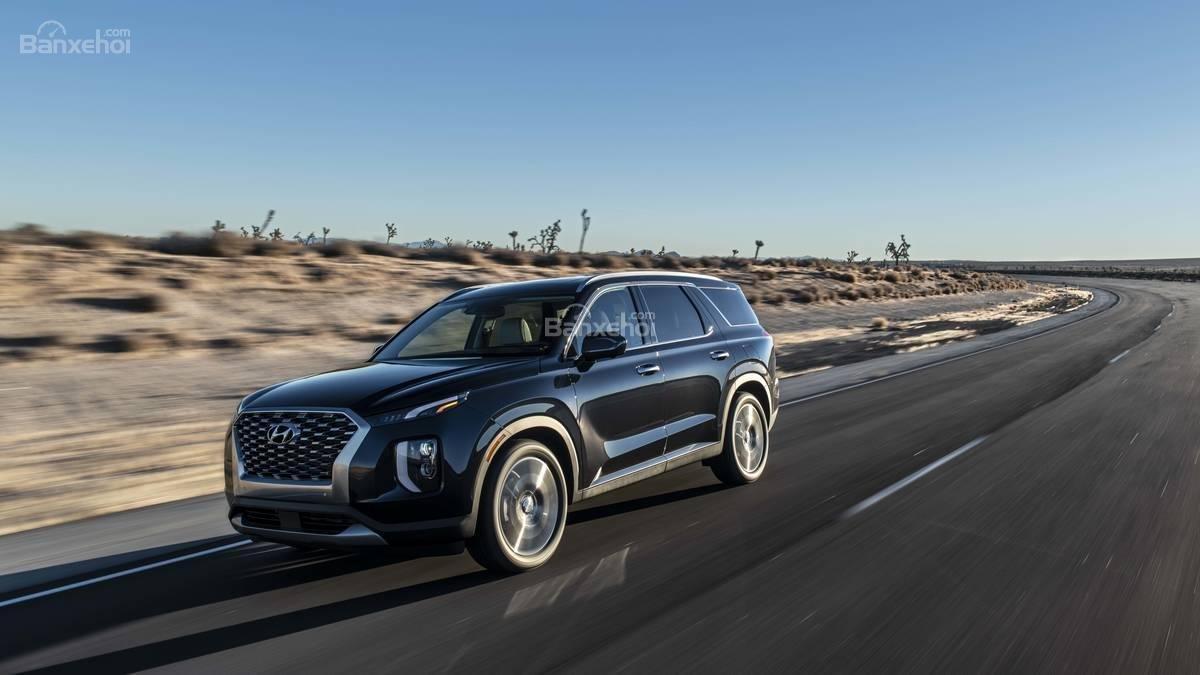 Đánh giá xe Hyundai Palisade 2020 về mức tiêu hao nhiên liệu.