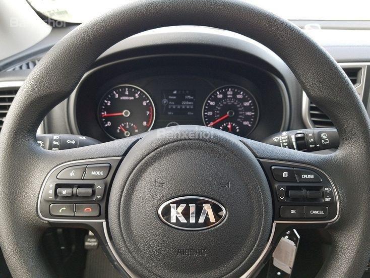 Đánh giá xe Kia Sportage 2019 bản Mỹ - nhiên liệu - 1a