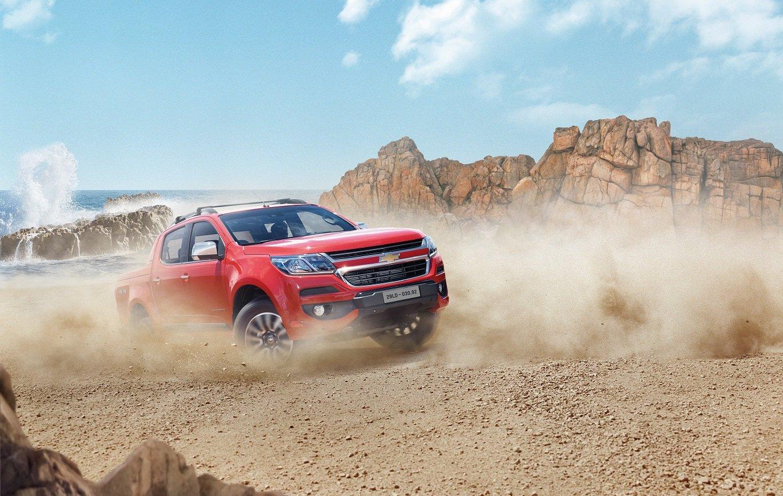 Chevrolet Colorado 2019 High Country thể hiện rất rõ những đặc trưng vận hành của dòng xe bán a7