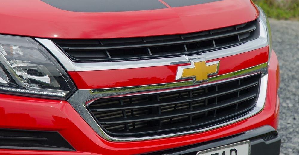 Đánh giá xe Chevrolet Colorado 2019 HighCountry: Lưới tản nhiệt