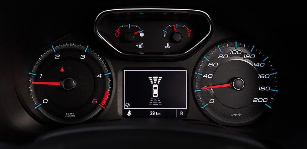 Đánh giá xe Chevrolet Colorado 2019 HighCountry: Thiết kế đồng hồ lái 1