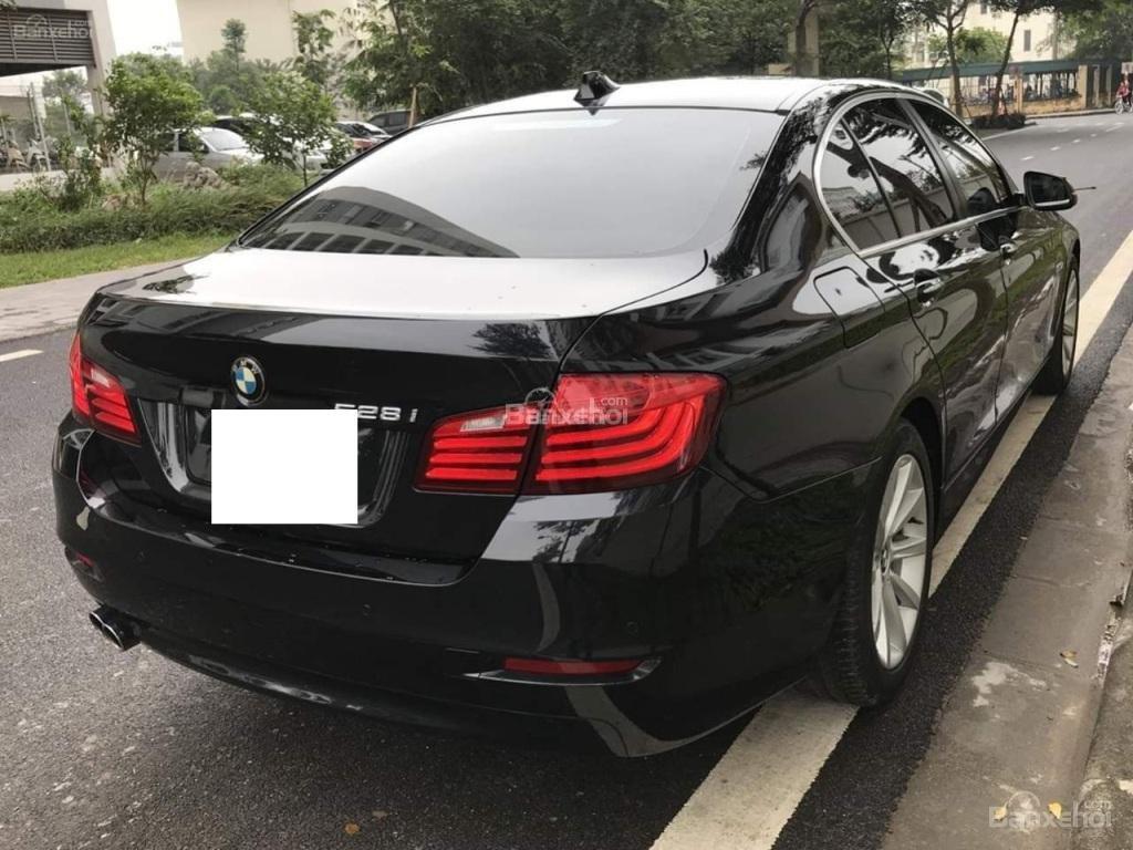 Bán BMW 528i sản xuất 12/2013 màu đen/nâu đăng ký biển Hà Nội năm 2014-4