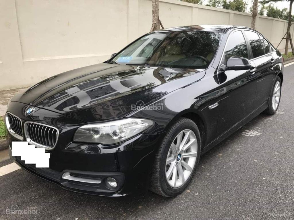 Bán BMW 528i sản xuất 12/2013 màu đen/nâu đăng ký biển Hà Nội năm 2014-2