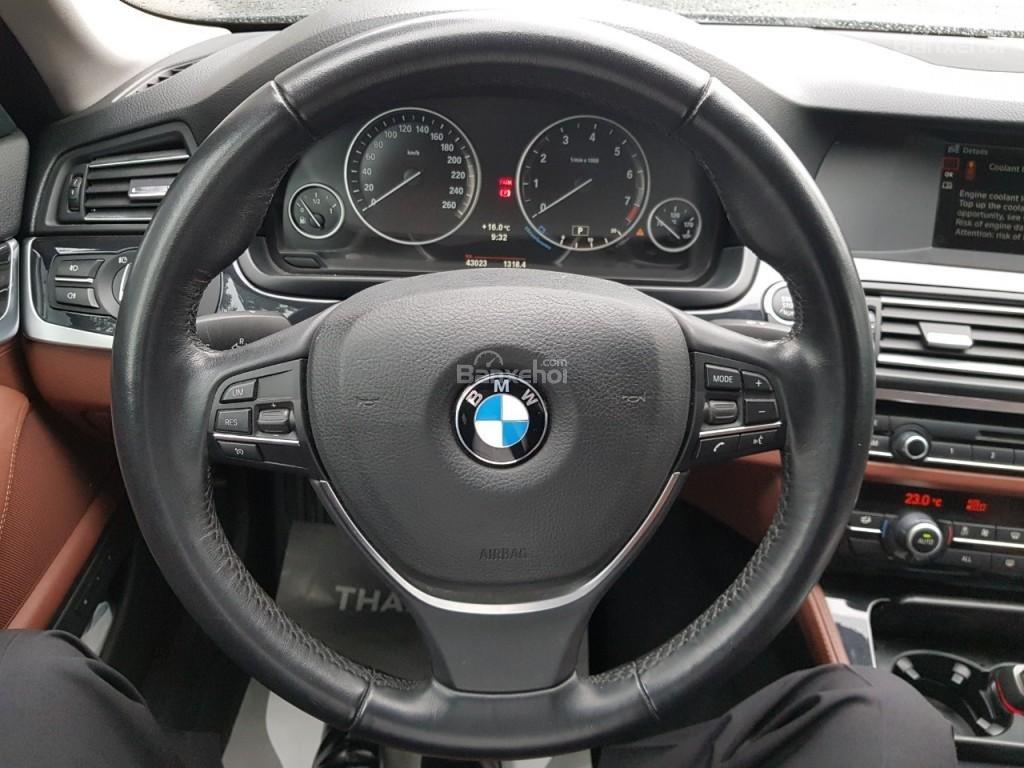 Bán BMW 528i sản xuất 12/2013 màu đen/nâu đăng ký biển Hà Nội năm 2014-6