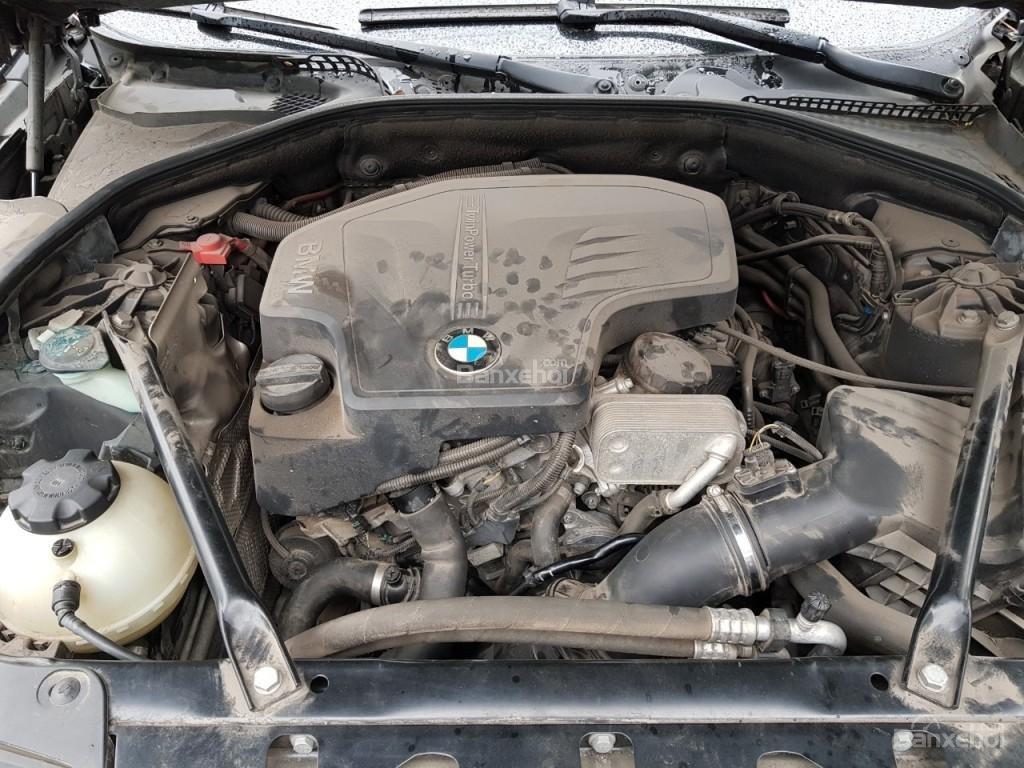 Bán BMW 528i sản xuất 12/2013 màu đen/nâu đăng ký biển Hà Nội năm 2014-12