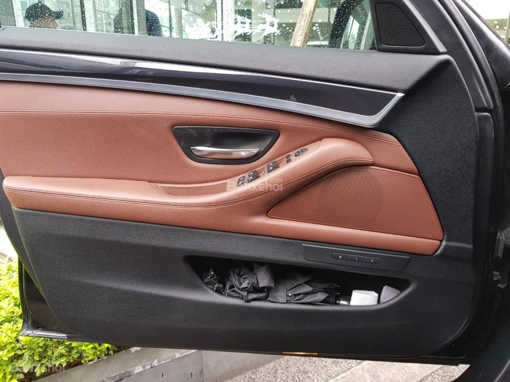 Bán BMW 528i sản xuất 12/2013 màu đen/nâu đăng ký biển Hà Nội năm 2014-10