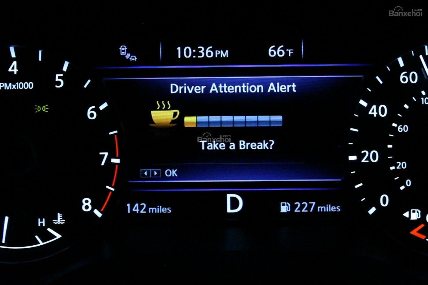 Tính năng phát hiện người lái mệt mỏi (Fatigue Detector).