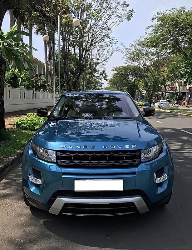 Bán LandRover Range Rover Evoque Dynamic sản xuất 2012, màu xanh, nhập khẩu-0