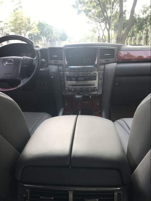 Bán xe Lexus LX 570 đời 2009, màu đen, xe nhập-4
