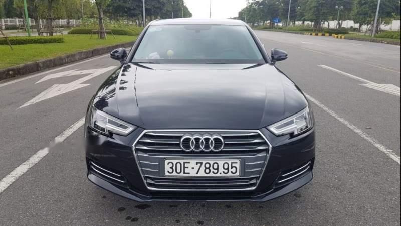 Bán Audi A4 đời 2017, màu đen, nhập khẩu như mới-0