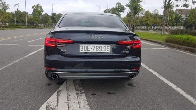 Bán Audi A4 đời 2017, màu đen, nhập khẩu như mới-1