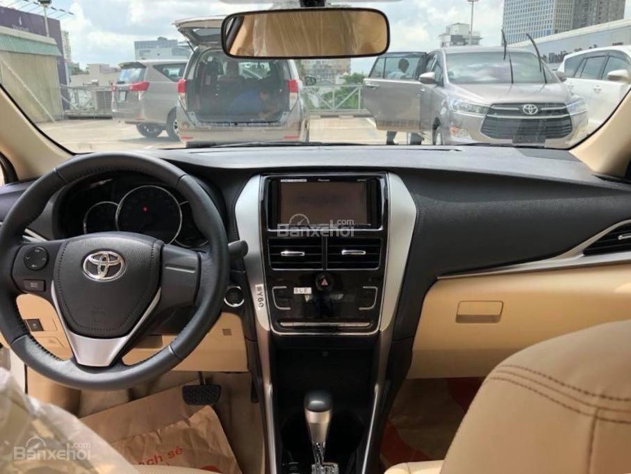 Toyota Tân Cảng Bán Vios 2019 Khuyến Mãi Lớn Nhất Năm-Trả Trọn Gói 150 Trđ Nhận Xe-LH 0901923399-3