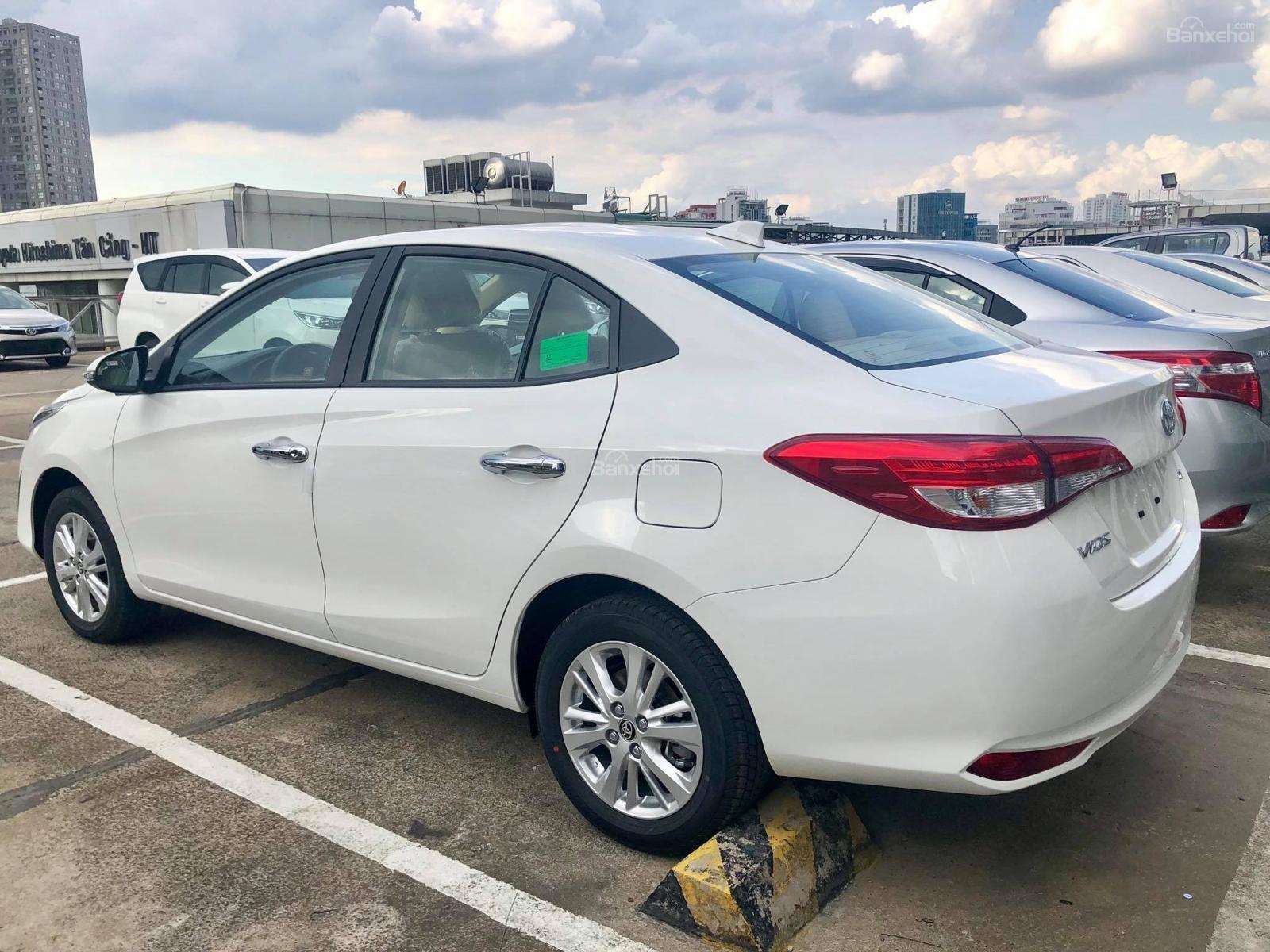 Toyota Tân Cảng Bán Vios 2019 Khuyến Mãi Lớn Nhất Năm-Trả Trọn Gói 150 Trđ Nhận Xe-LH 0901923399-6
