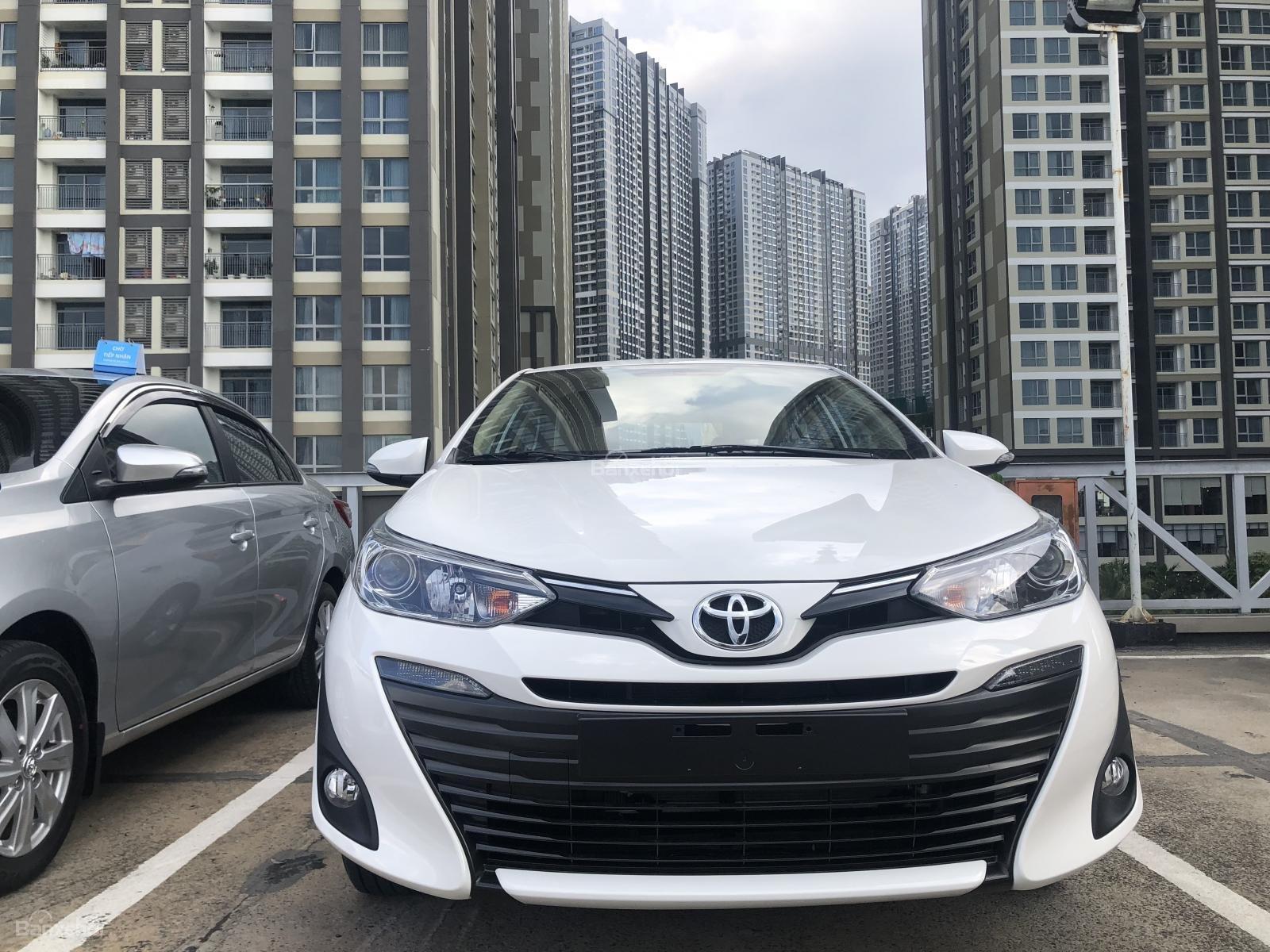 Toyota Tân Cảng Bán Vios 2019 Khuyến Mãi Lớn Nhất Năm-Trả Trọn Gói 150 Trđ Nhận Xe-LH 0901923399-0
