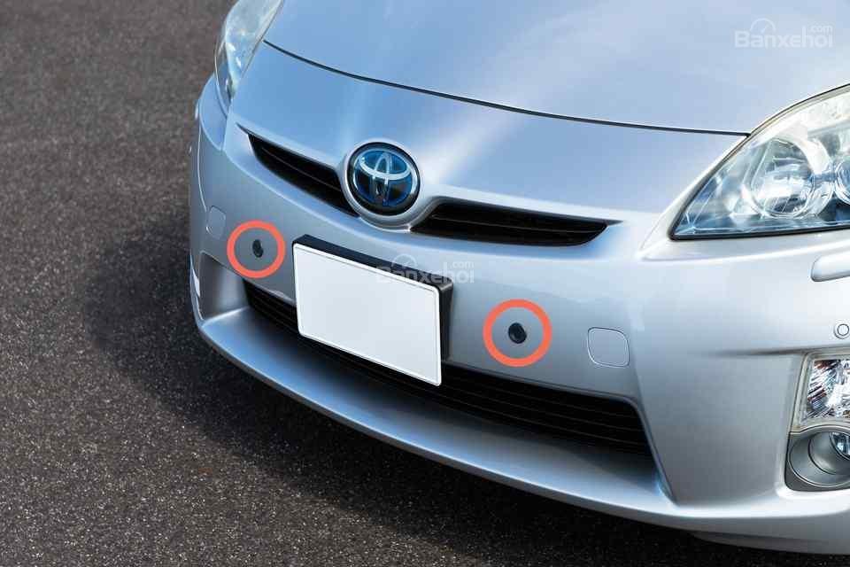 Toyota Prius bổ sung hệ thống tránh đạp nhầm chân ga - 2a