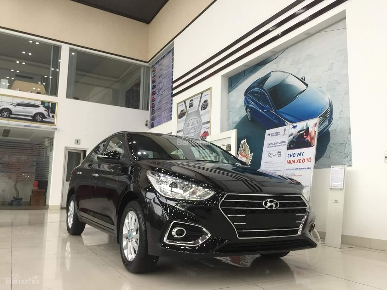 [Hyundai Kinh Dương Vương] Accent trả trước 140tr, tặng gói phụ kiện, góp ngân hàng chỉ từ 0.66%/tháng, LH 0961730817-1