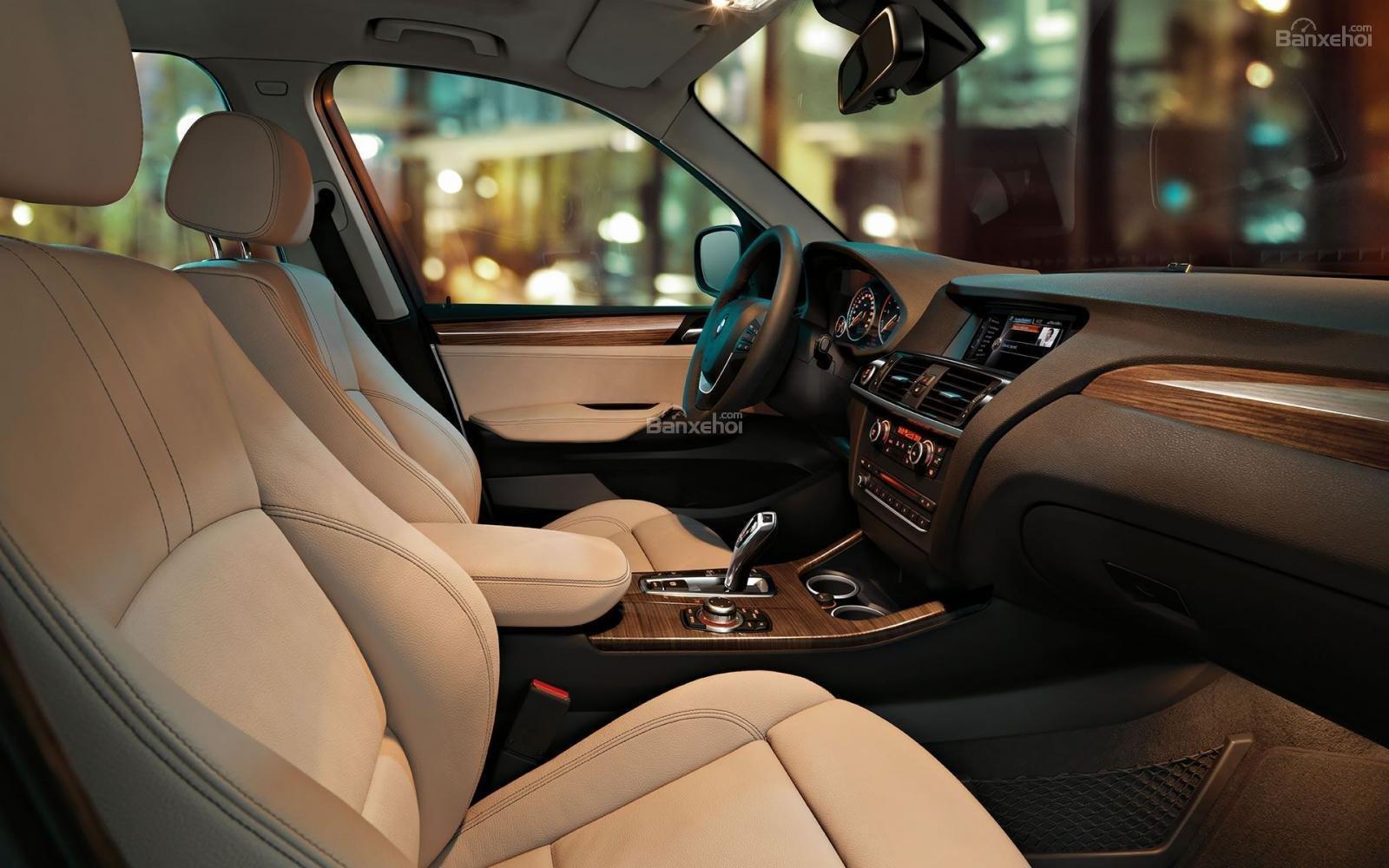 Bán BMW X3 xDrive20i năm sản xuất 2017, màu trắng, xe nhập-1