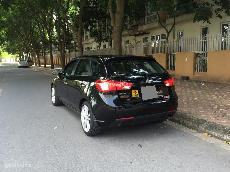Bán Kia Cerato hatchback 2010 tự động 1.6, màu đen rất tuyệt-2