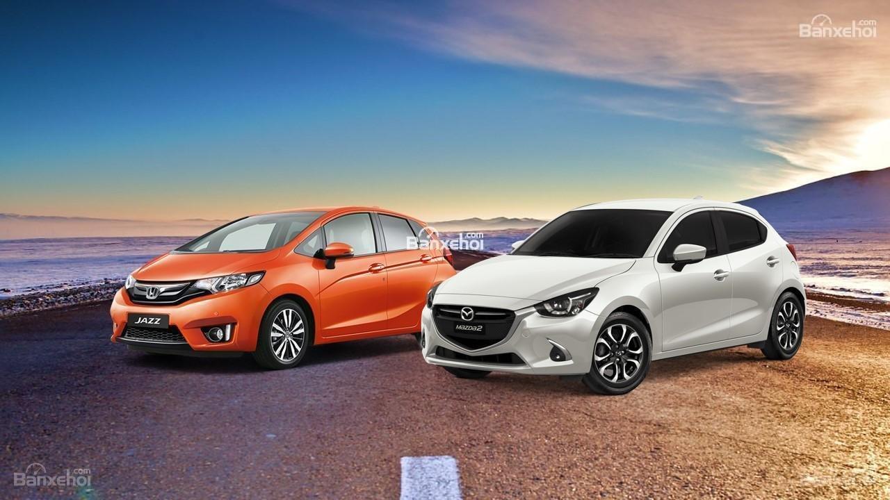 So sánh xe Mazda 2 2019 và Honda Jazz 2019: So găng hatchback hạng B nhập khẩu Thái Lan 1.