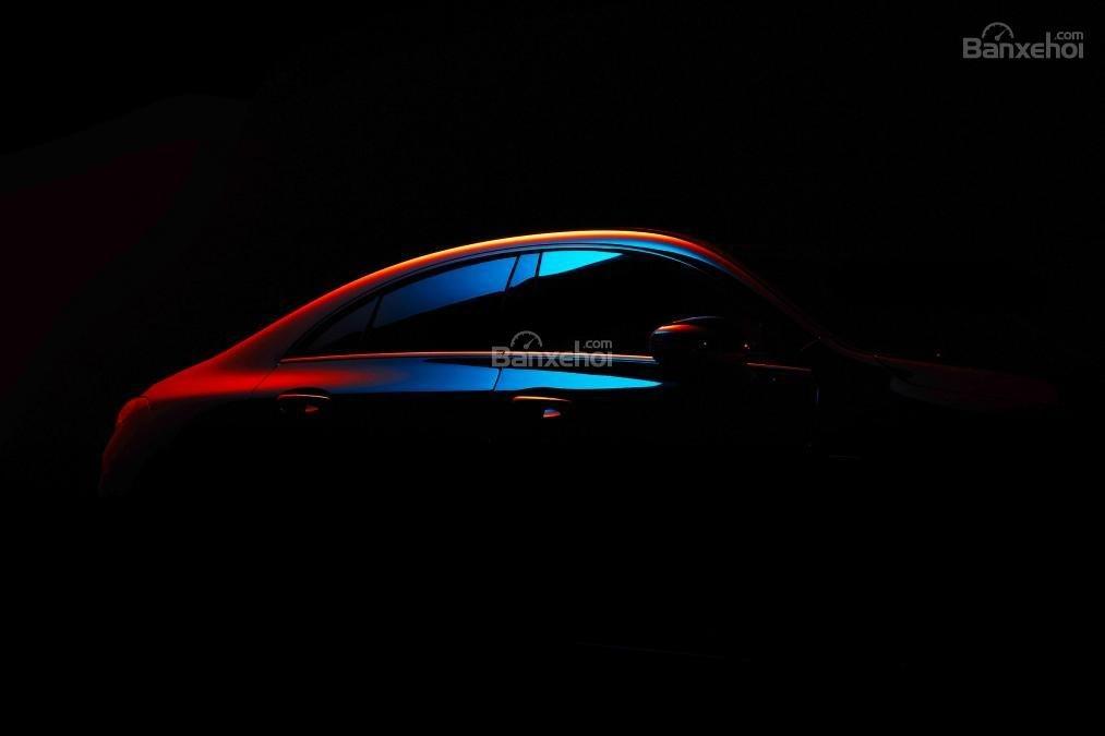 Mercedes CLA mới chính thức nhá hàng trước triển lãm CES - 1