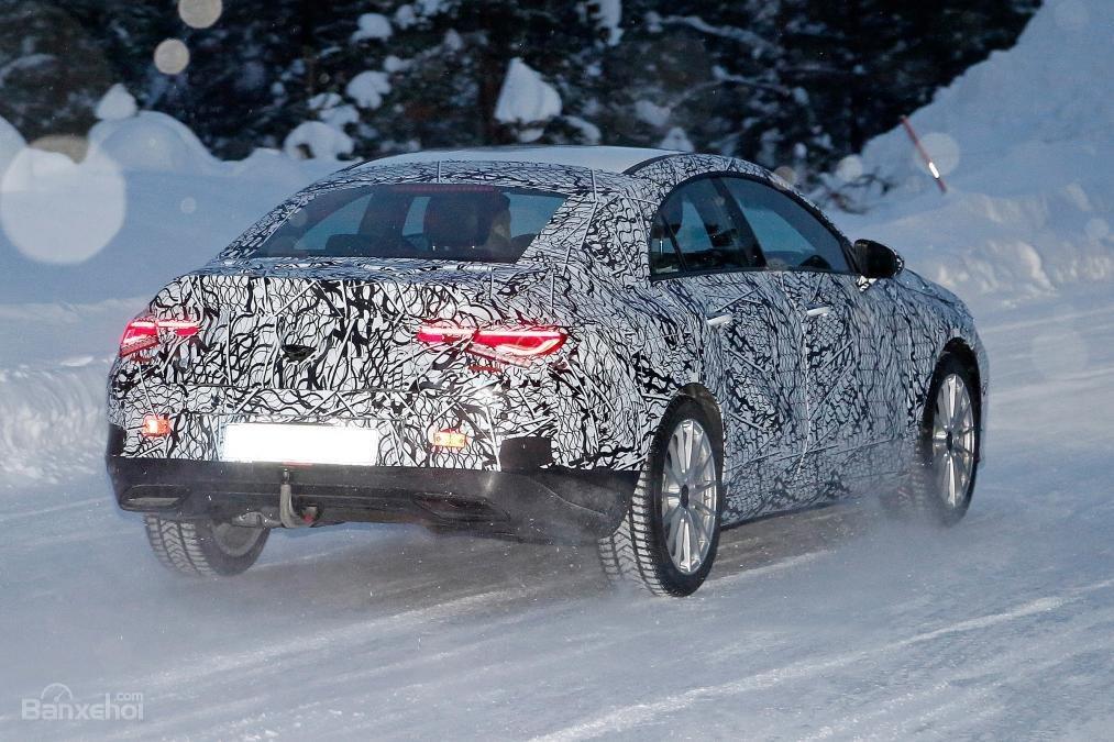 Mercedes CLA mới chính thức nhá hàng trước triển lãm CES - 3