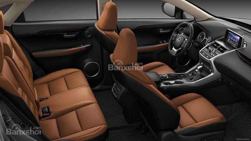Ghế ngồi của Lexus NX300 2018...