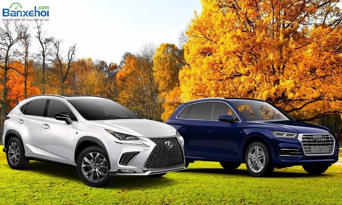 So sánh Audi Q5 và Lexus NX .......