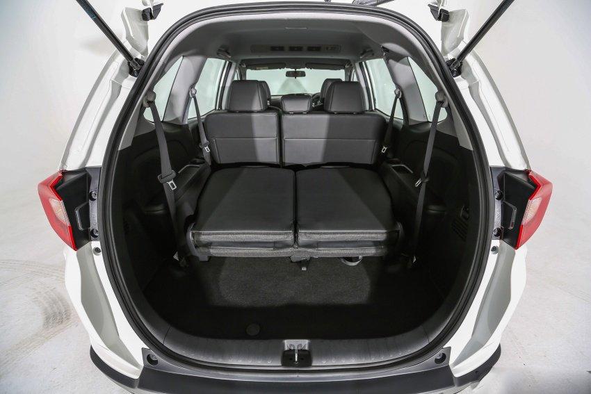 Ảnh chụp khoang hành lý xe Honda BR-V 2019