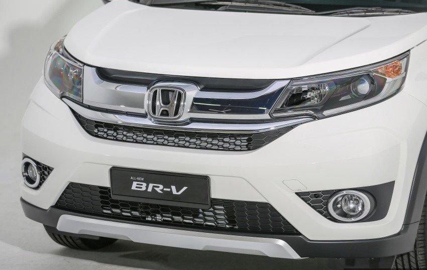 Ảnh chụp lưới tản nhiệt xe Honda BR-V 2019