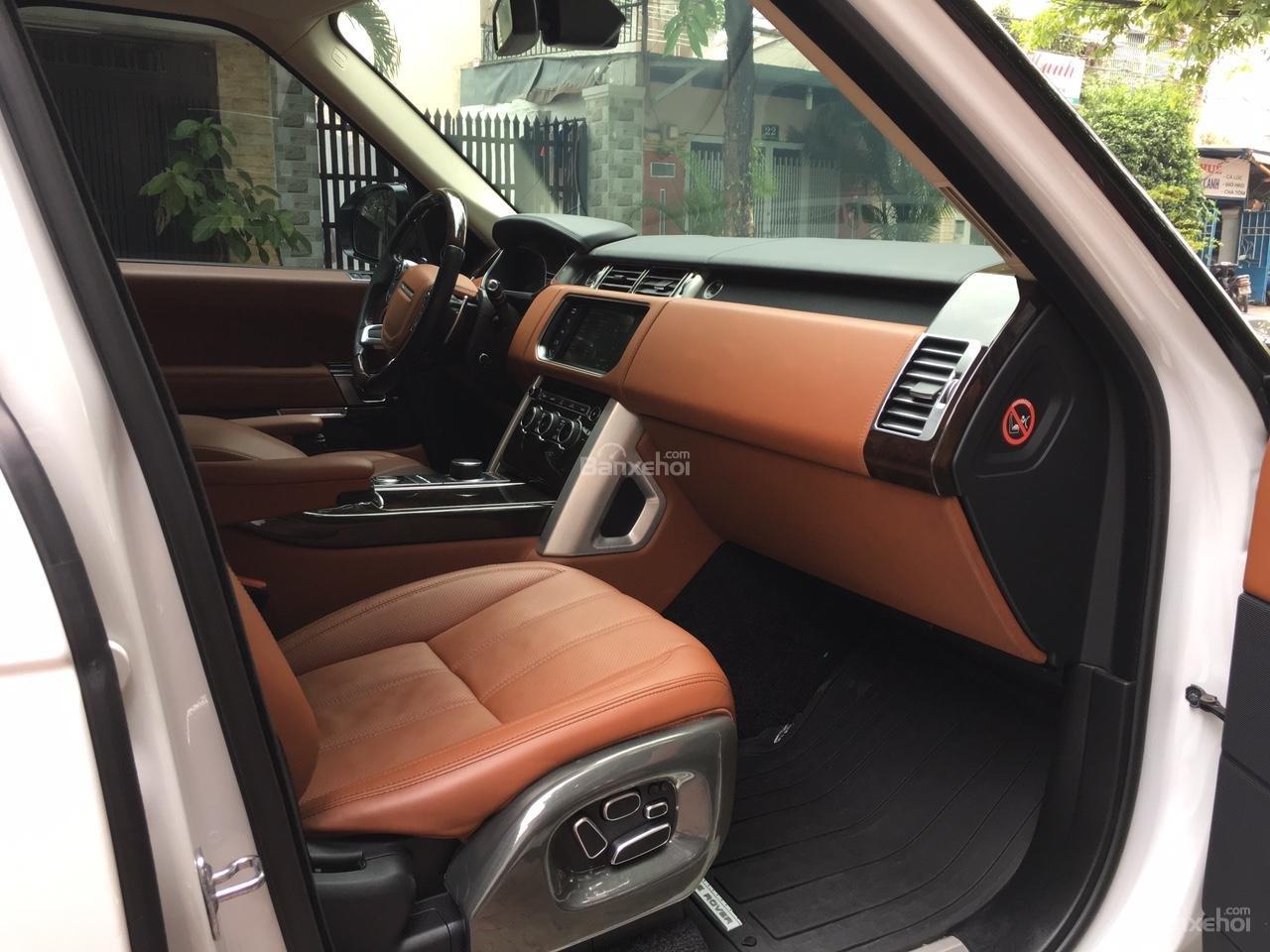Cần bán xe LandRover Range Rover Autobiography 3.0 năm 2014, màu trắng -3
