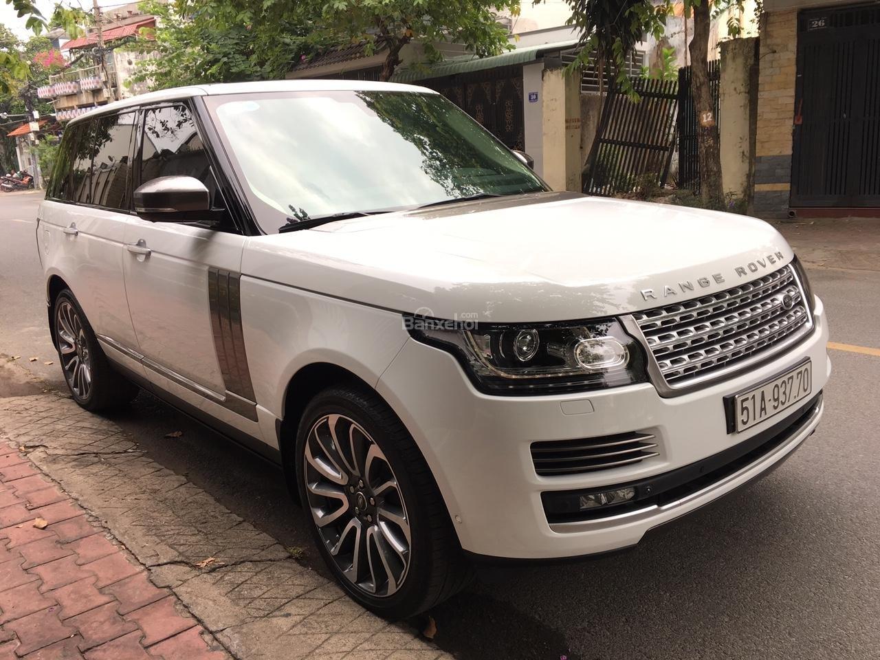 Cần bán xe LandRover Range Rover Autobiography 3.0 năm 2014, màu trắng -10
