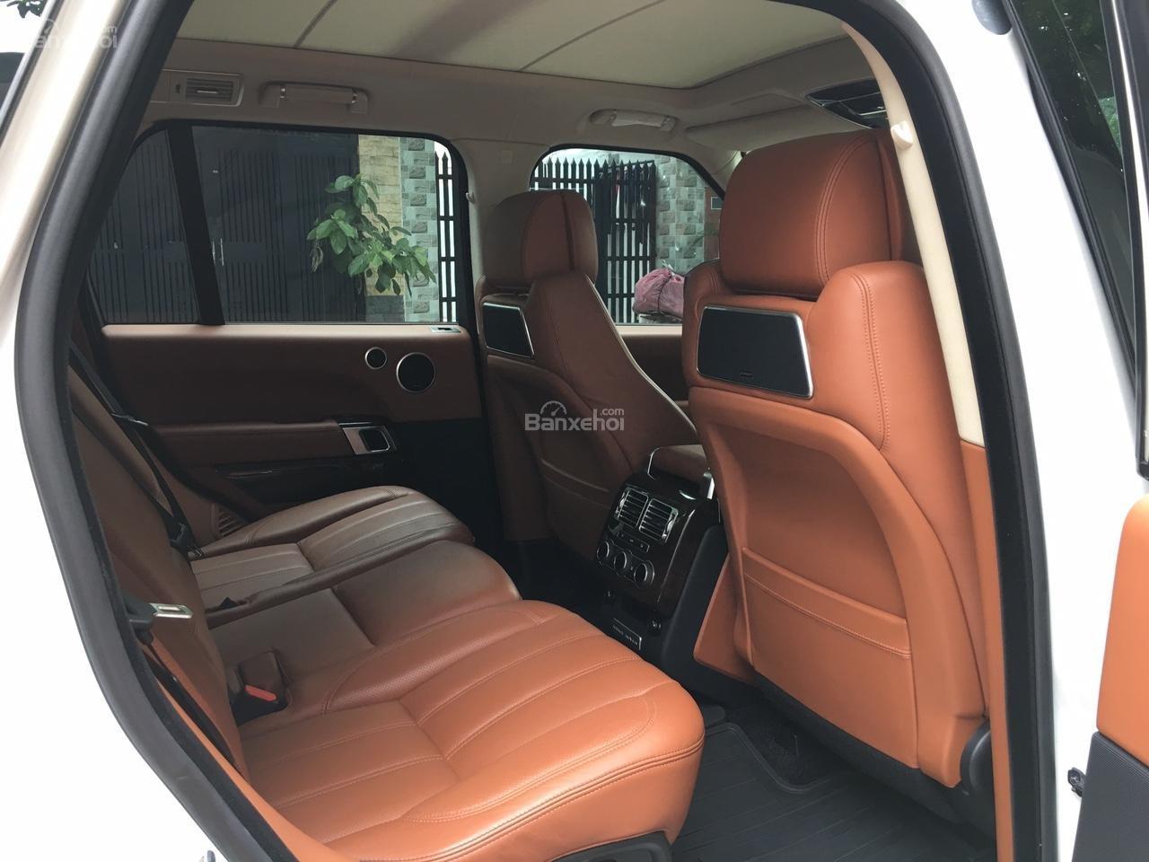 Cần bán xe LandRover Range Rover Autobiography 3.0 năm 2014, màu trắng -7