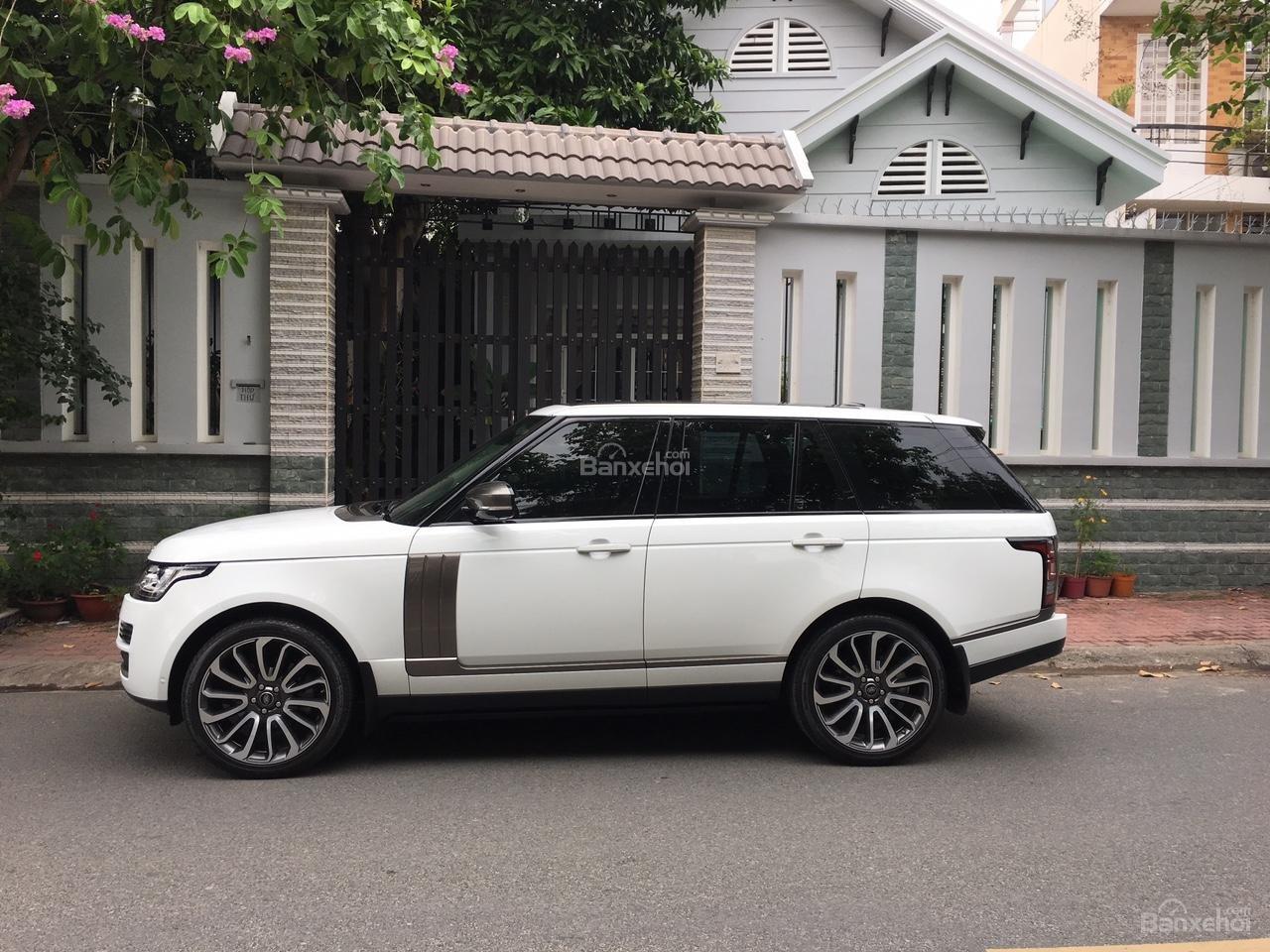 Cần bán xe LandRover Range Rover Autobiography 3.0 năm 2014, màu trắng -4