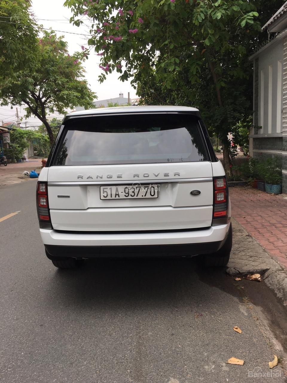 Cần bán xe LandRover Range Rover Autobiography 3.0 năm 2014, màu trắng -5