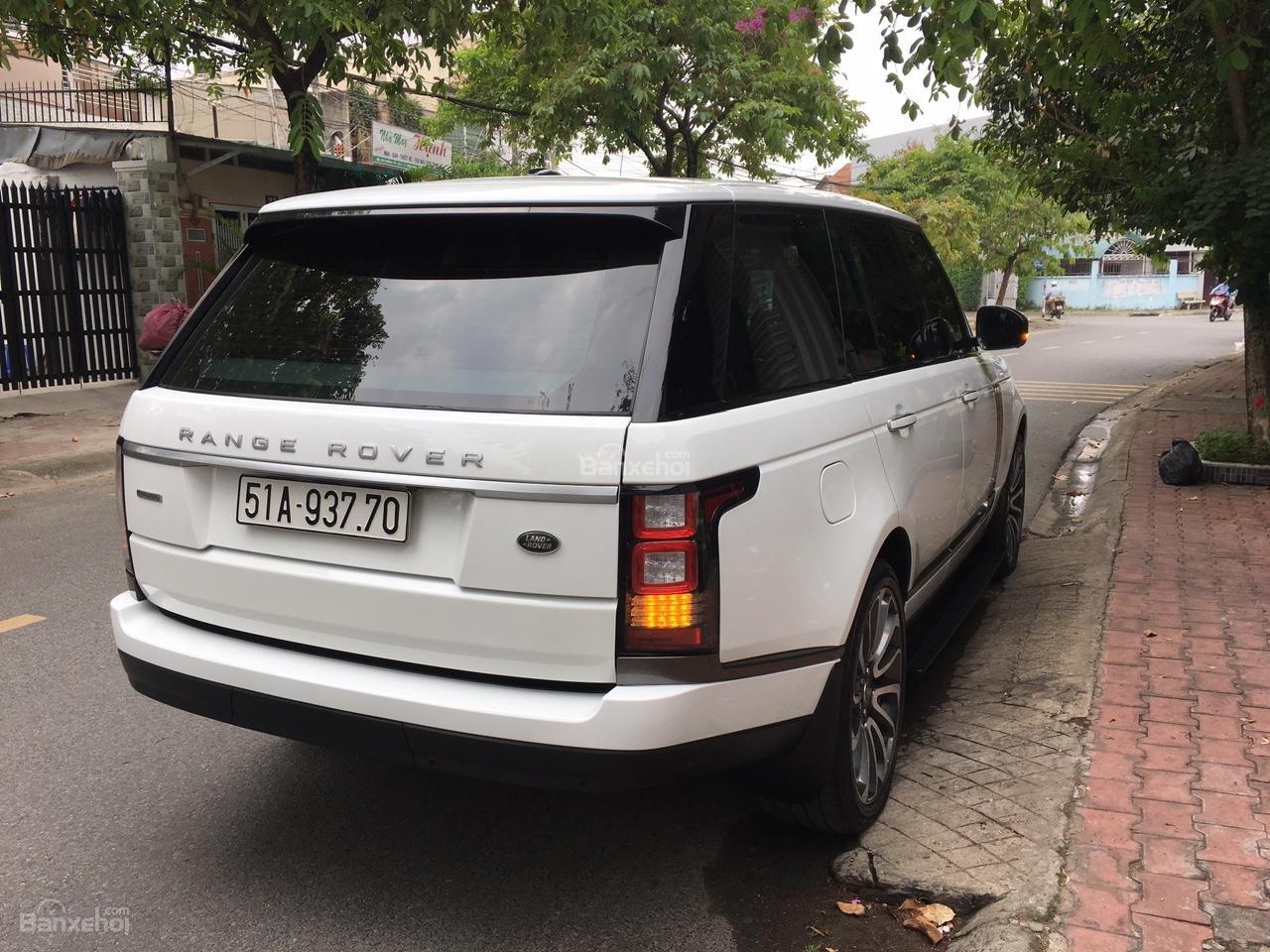 Cần bán xe LandRover Range Rover Autobiography 3.0 năm 2014, màu trắng -9