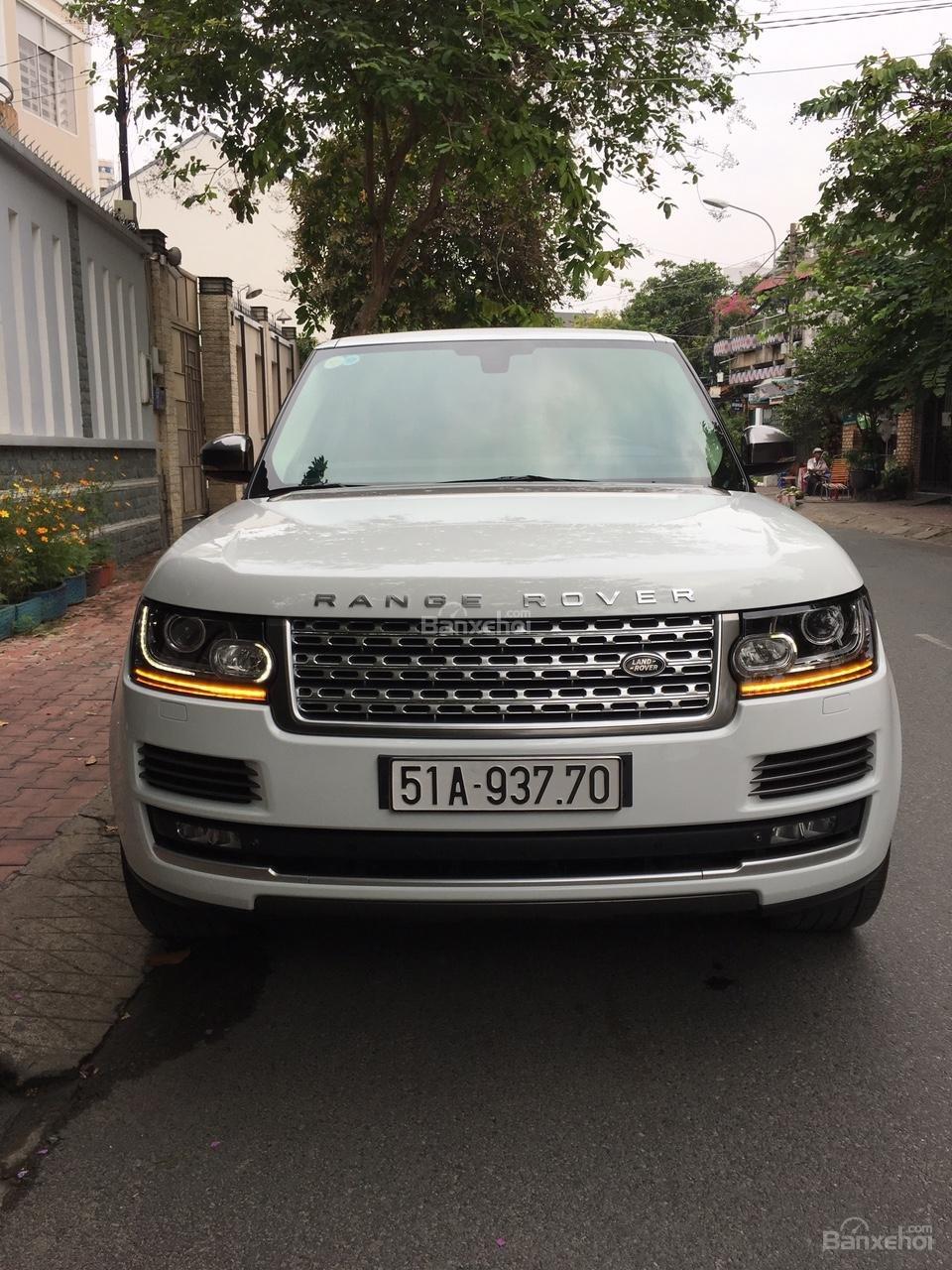Cần bán xe LandRover Range Rover Autobiography 3.0 năm 2014, màu trắng -6