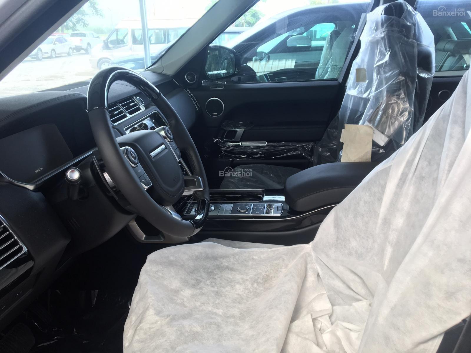 Bán xe LandRover Range Rover HSE 3.0 năm sản xuất 2017, màu trắng, nhập khẩu nguyên chiếc-2