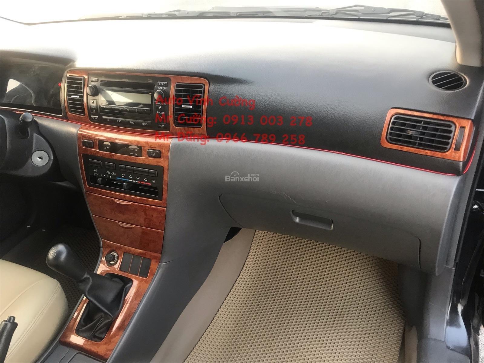 Cần bán xe Toyota Corolla Altis 1.8G MT sản xuất năm 2007, màu đen-6