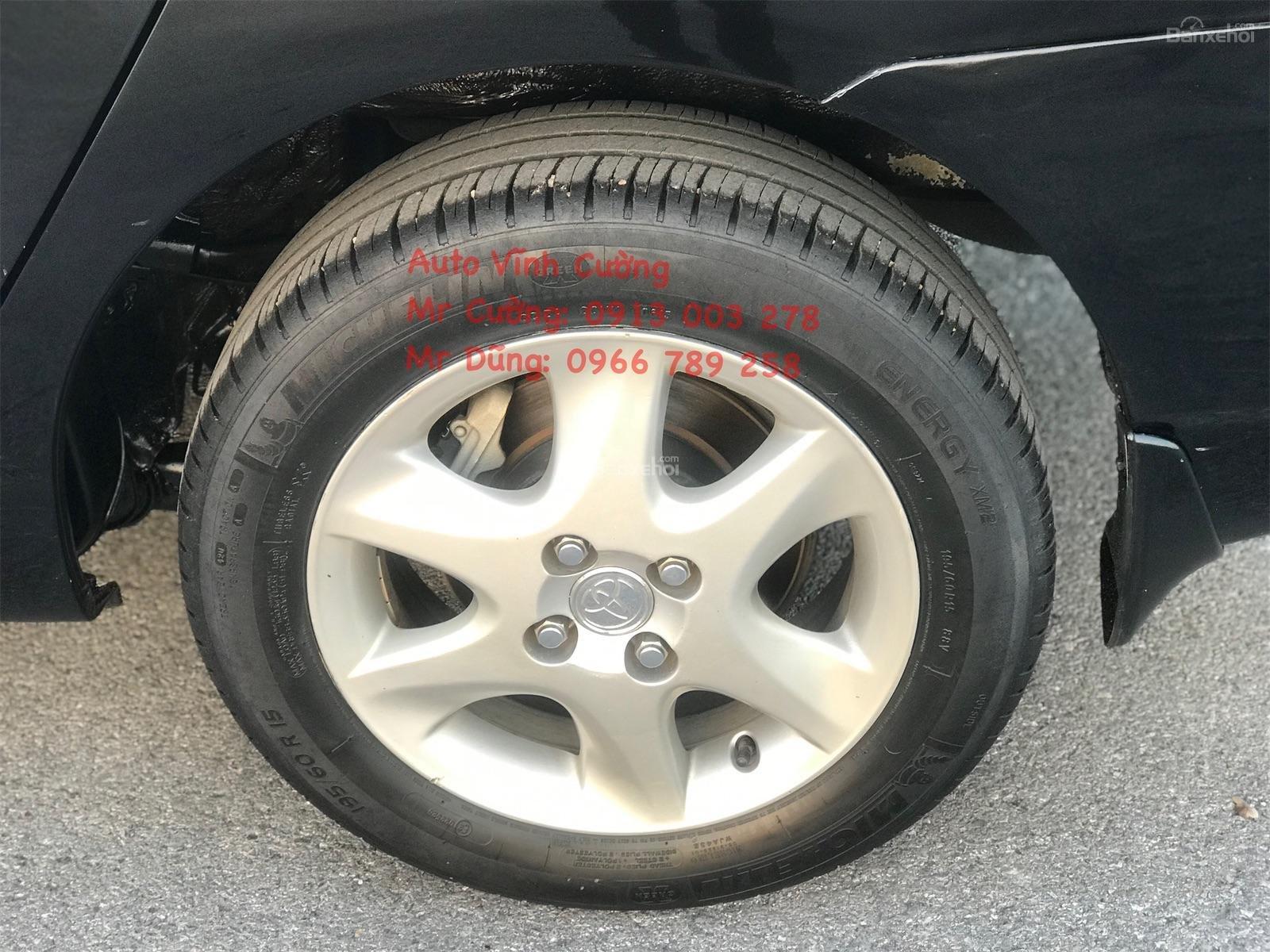 Cần bán xe Toyota Corolla Altis 1.8G MT sản xuất năm 2007, màu đen (4)