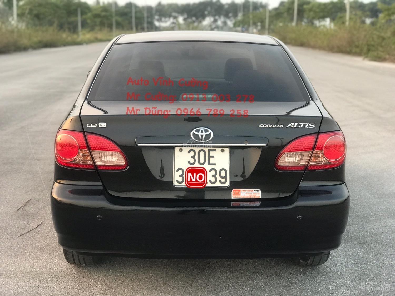 Cần bán xe Toyota Corolla Altis 1.8G MT sản xuất năm 2007, màu đen (21)