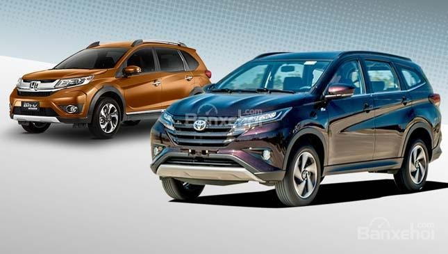 Tầm giá 700 triệu, chọn Toyota Rush 2019 hay Honda BR-V 2019