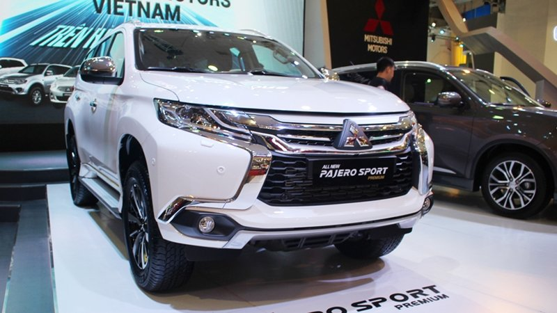 Mitsubishi Pajero Sport sẽ có bản số sàn tại Việt Nam a1