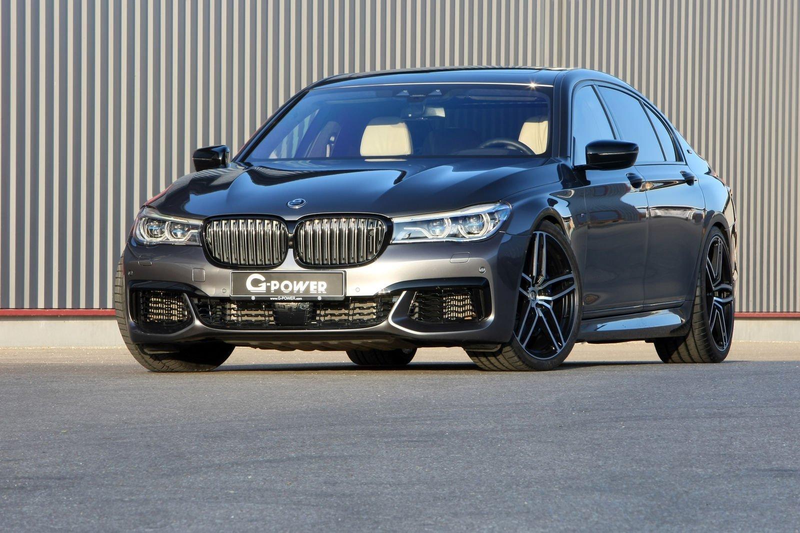"""BMW M760Li hóa """"mãnh thú"""" với gói nâng cấp G-Power a1"""