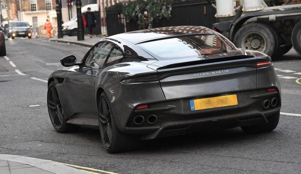 Chiếc Aston Martin DBS Superleggera 2018 của David Beckham