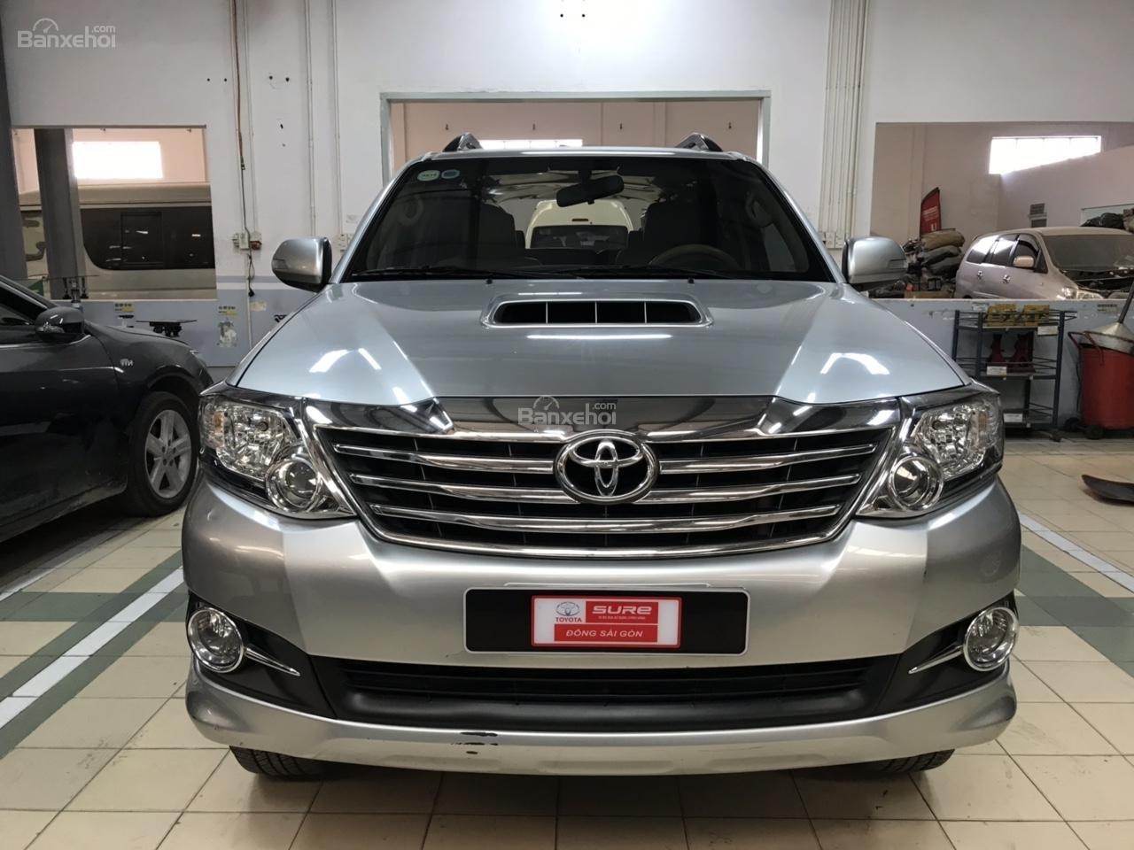 Bán xe Toyota Fortuner 2.5G năm 2015, màu bạc, xe số sàn, chất xe đã được kiểm định giá thương lượng khi xem mua xe-0