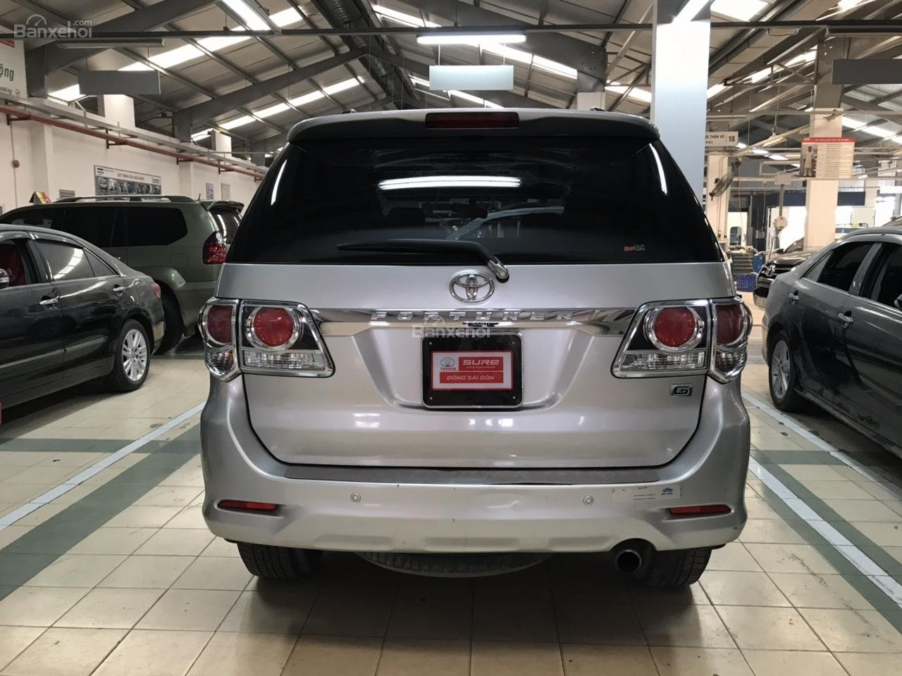 Bán xe Toyota Fortuner 2.5G năm 2015, màu bạc, xe số sàn, chất xe đã được kiểm định giá thương lượng khi xem mua xe-1