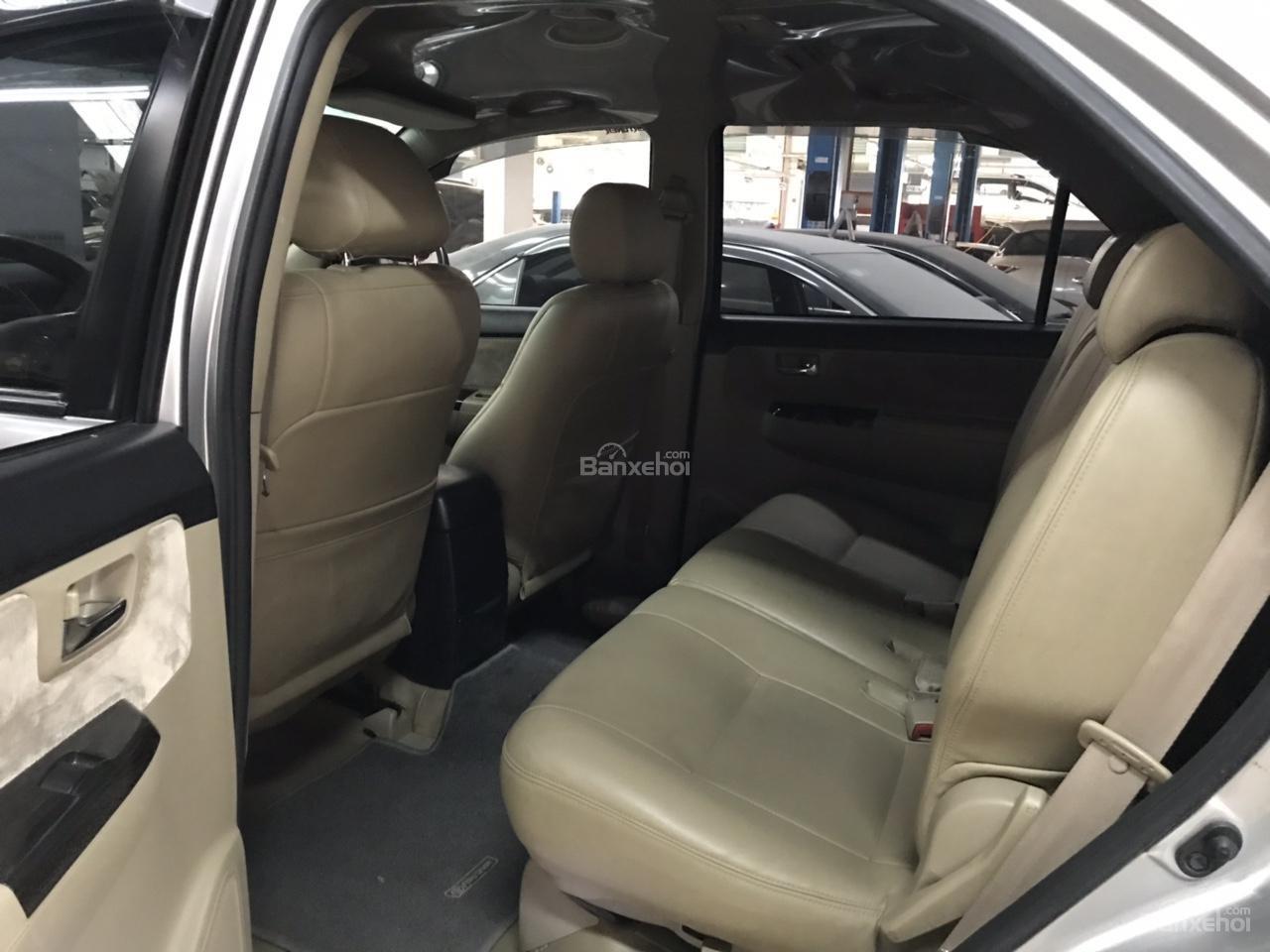 Bán xe Toyota Fortuner 2.5G năm 2015, màu bạc, xe số sàn, chất xe đã được kiểm định giá thương lượng khi xem mua xe-6